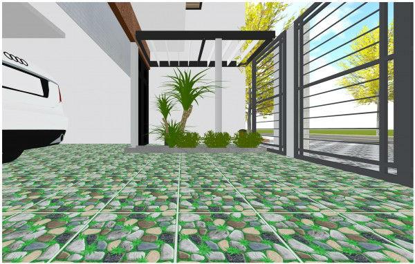 tư vấn tổng thể sử dụng gạch lát sân thượng