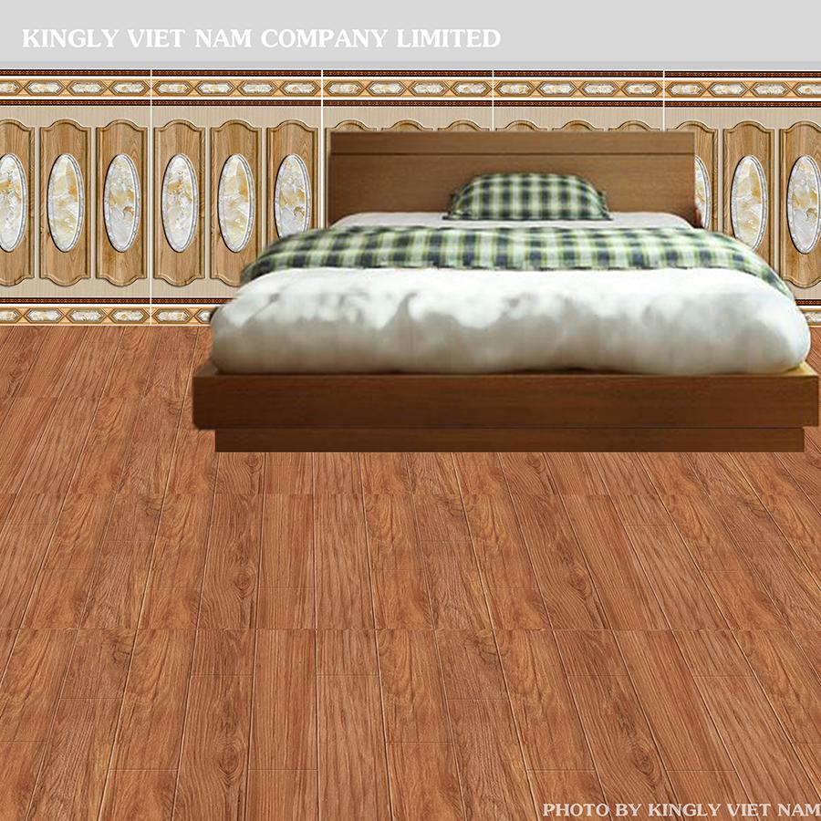 Gạch giả gỗ catalan 60x60 sự lựa chọn cho không gian phòng ngủ